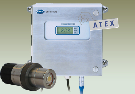Orbisphere 366xEx ATEX Intrinsically Safe Oxygen Analyzer
